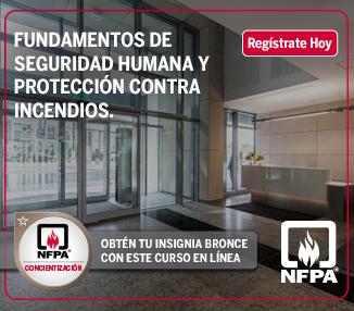 Fundamentos de seguridad humana y protección contra incendios