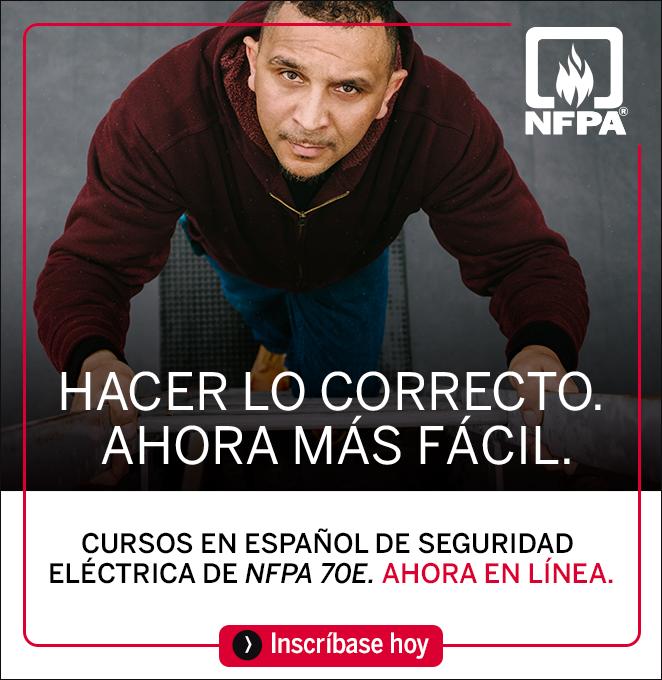 Cursos Online NFPA 70E