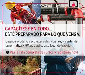 Cursos NFPA en Latinoamérica
