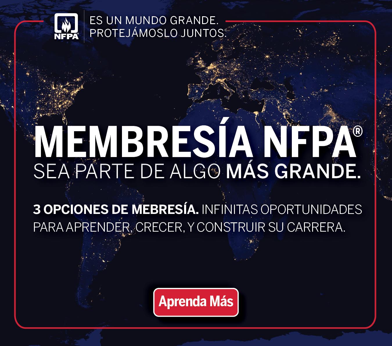 Membresía NFPA